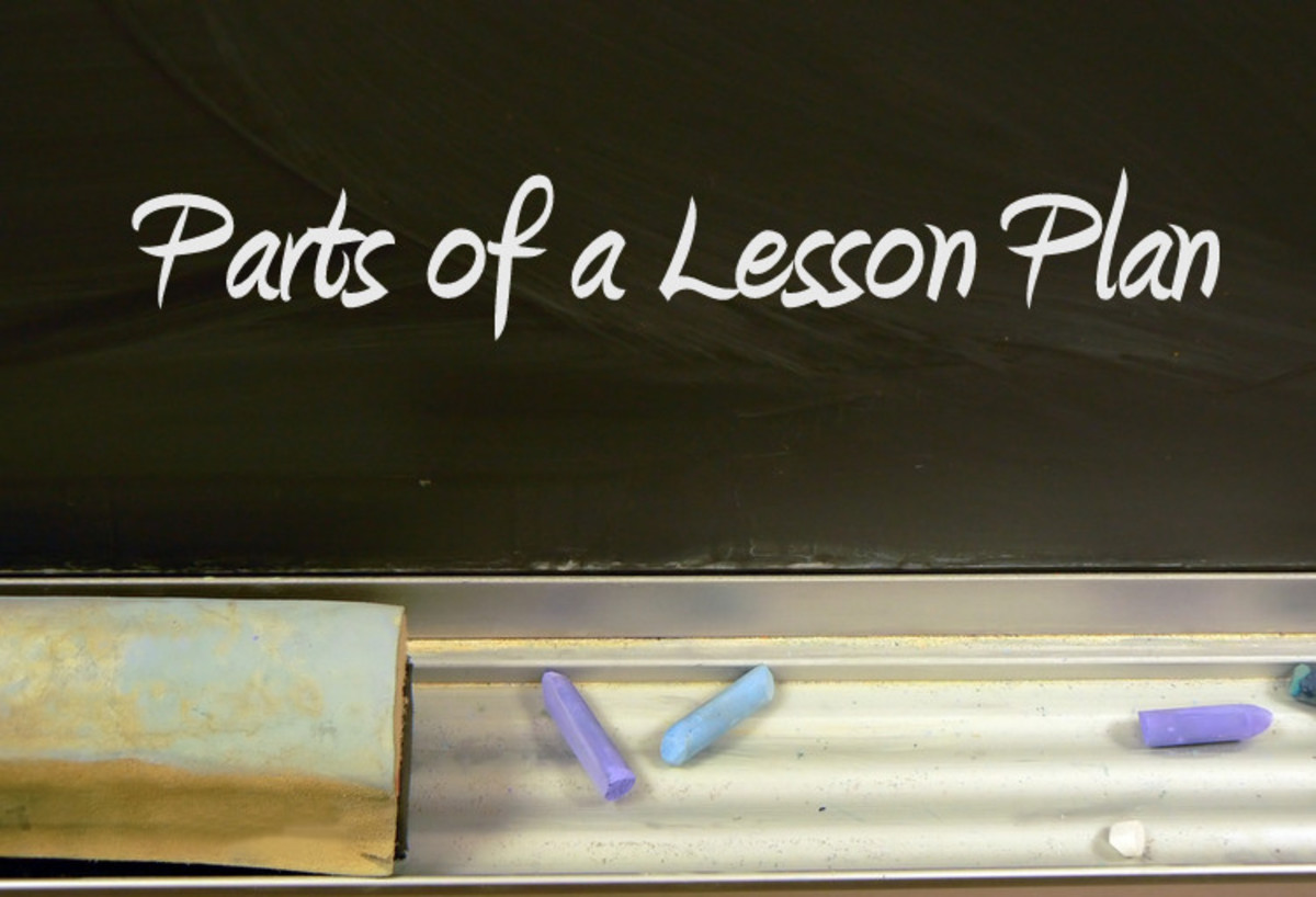 Parts of a Lesson Plan and an Effective, Easy Template | Owlcation