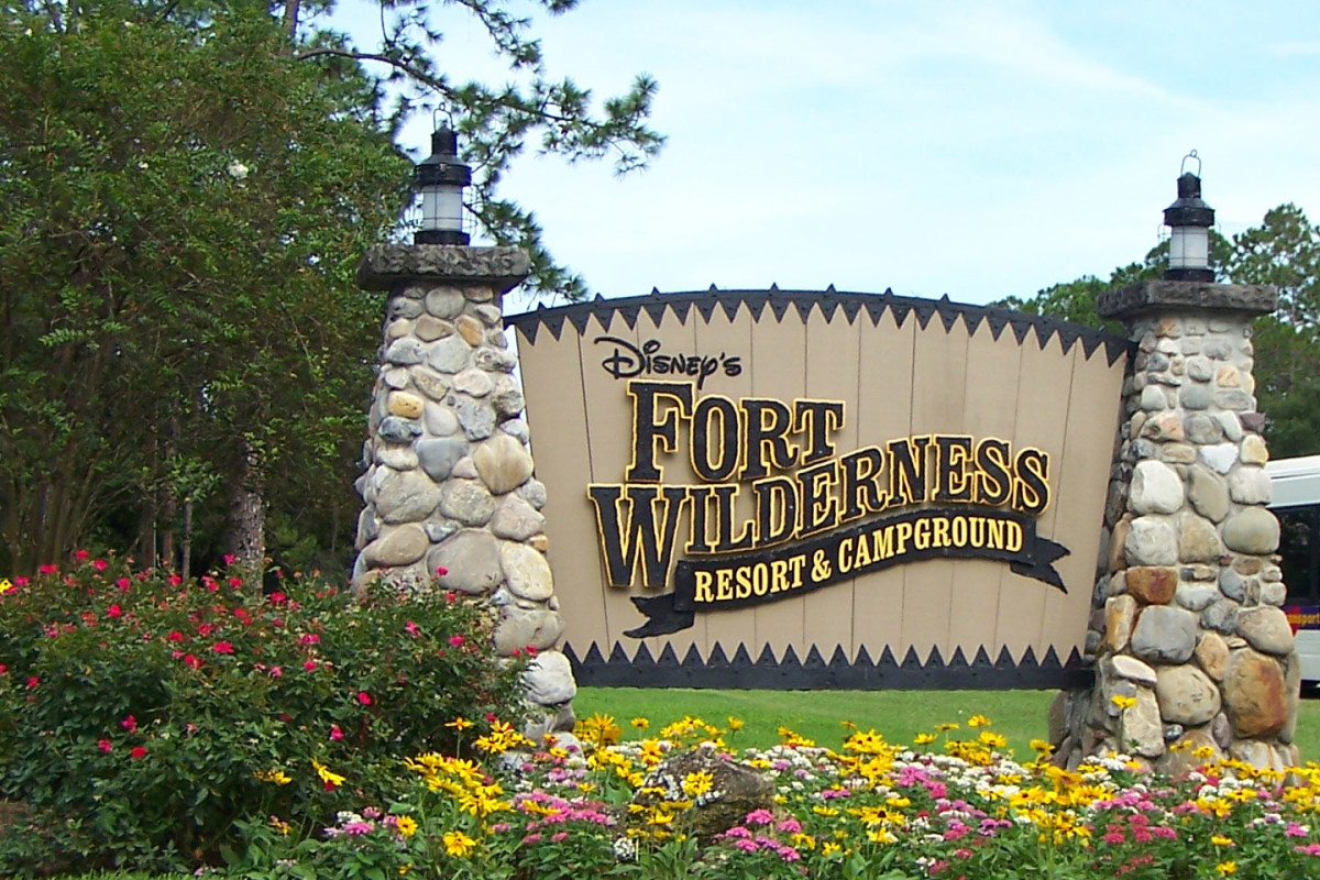 Welcome to Disney's Fort Wilderness