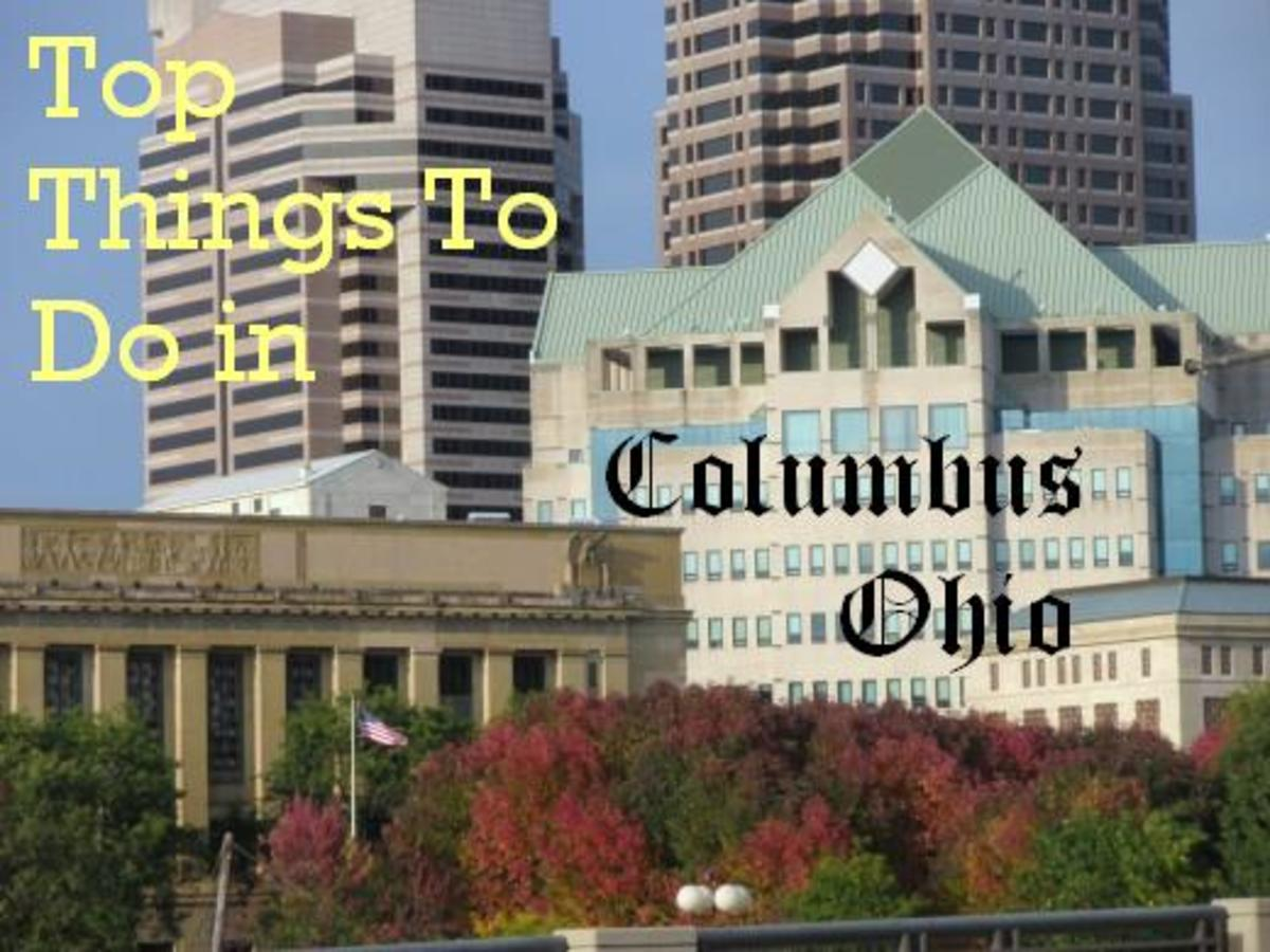Downtown Columbus, Ohio is a conglomeration of beautiful buildings with many different architectural styles.