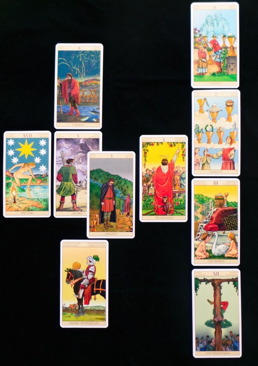 Tarot: The Celtic Cross Spread   Exemplore