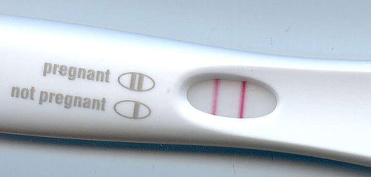 Congratulations! Many women will obtain a positive pregnancy test when they are four weeks pregnant.