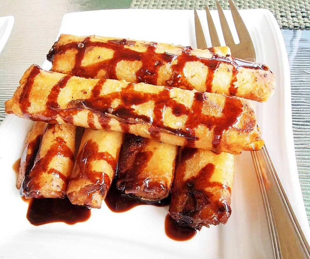 Quick and Easy Recipe for Turon, Philippine Banana Roll Dessert