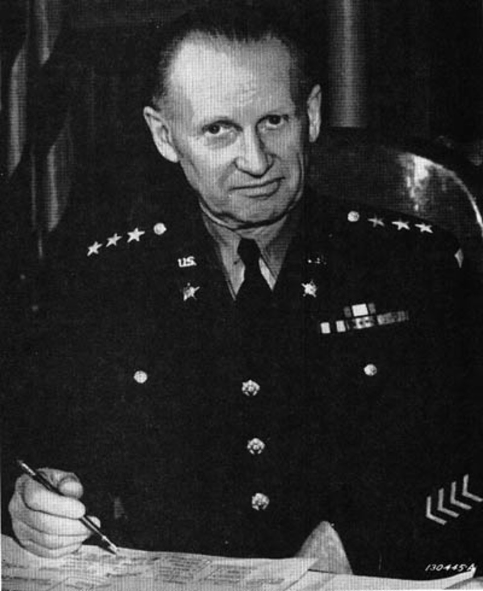 WW2: Lt. General Lesley J. McNair, the highest-ranking American officer to be killed (by friendly fire) during World War Two.