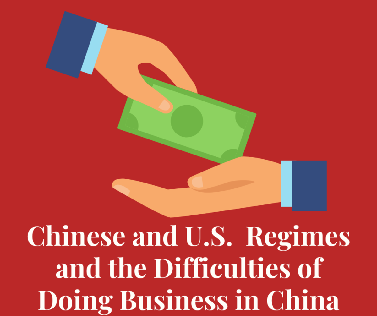 Comparing Chinese and U.S. Regimes and the Difficulties of Doing Business in China
