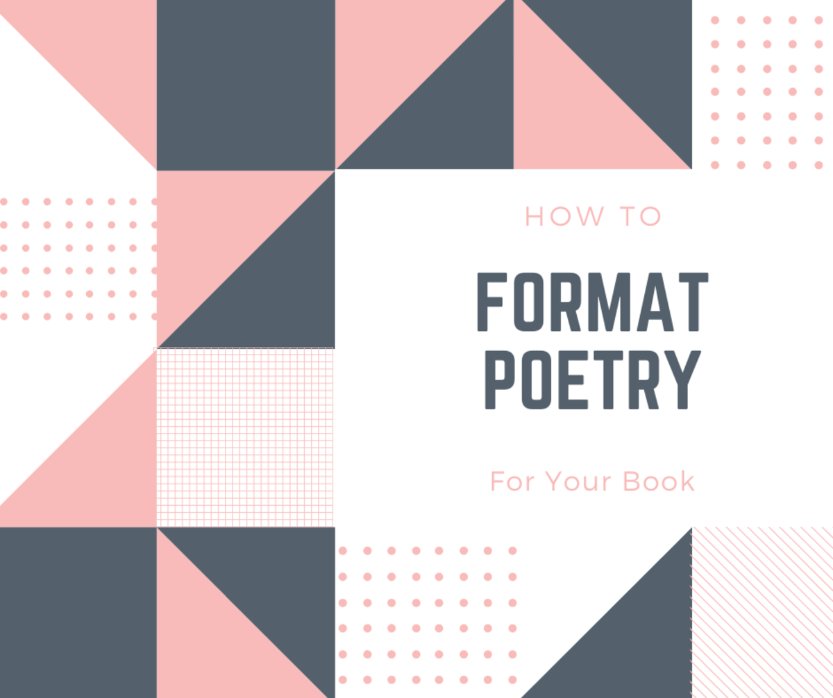 Learn how to format your poetry nicely!