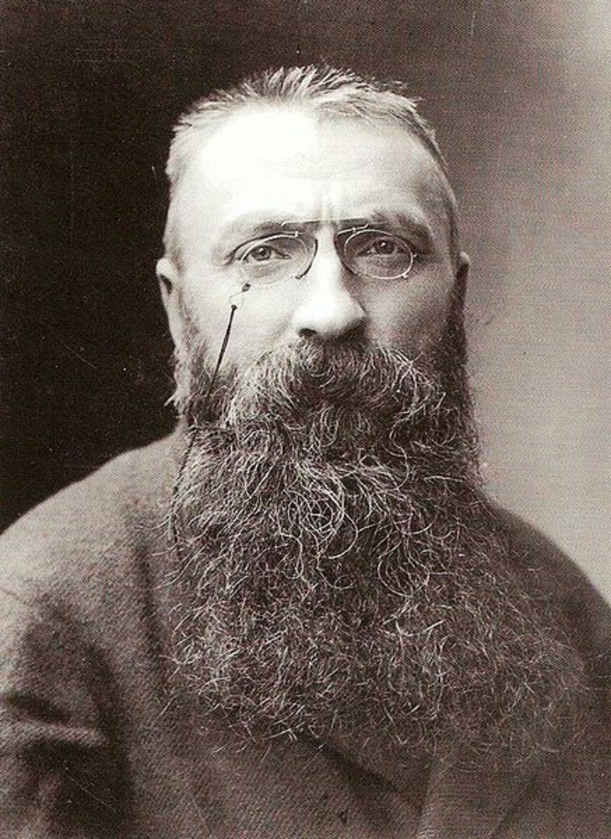 Auguste Rodin, father of modern sculpture.