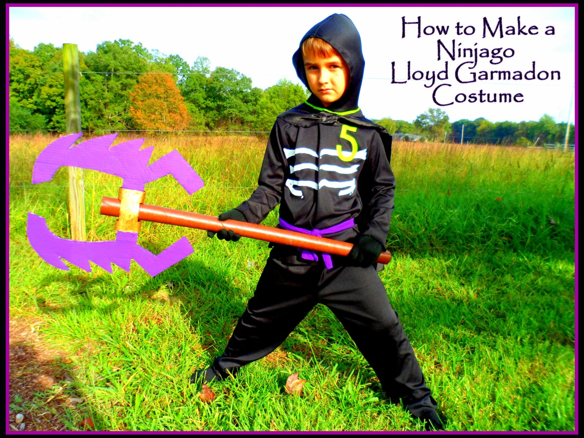 How to Make a Ninjago Lloyd Garmadon Costume