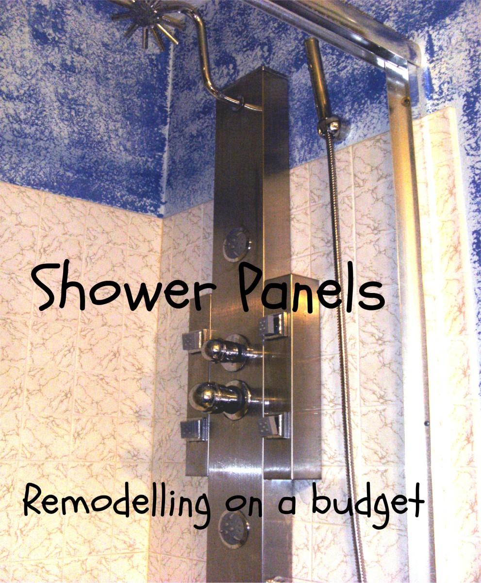 Retrofit Shower Panels: Bathroom Remodeling on a Budget