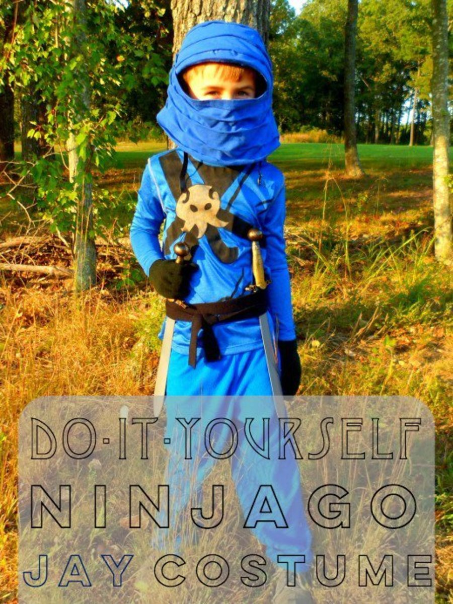 How to Make a Ninjago Jay Costume