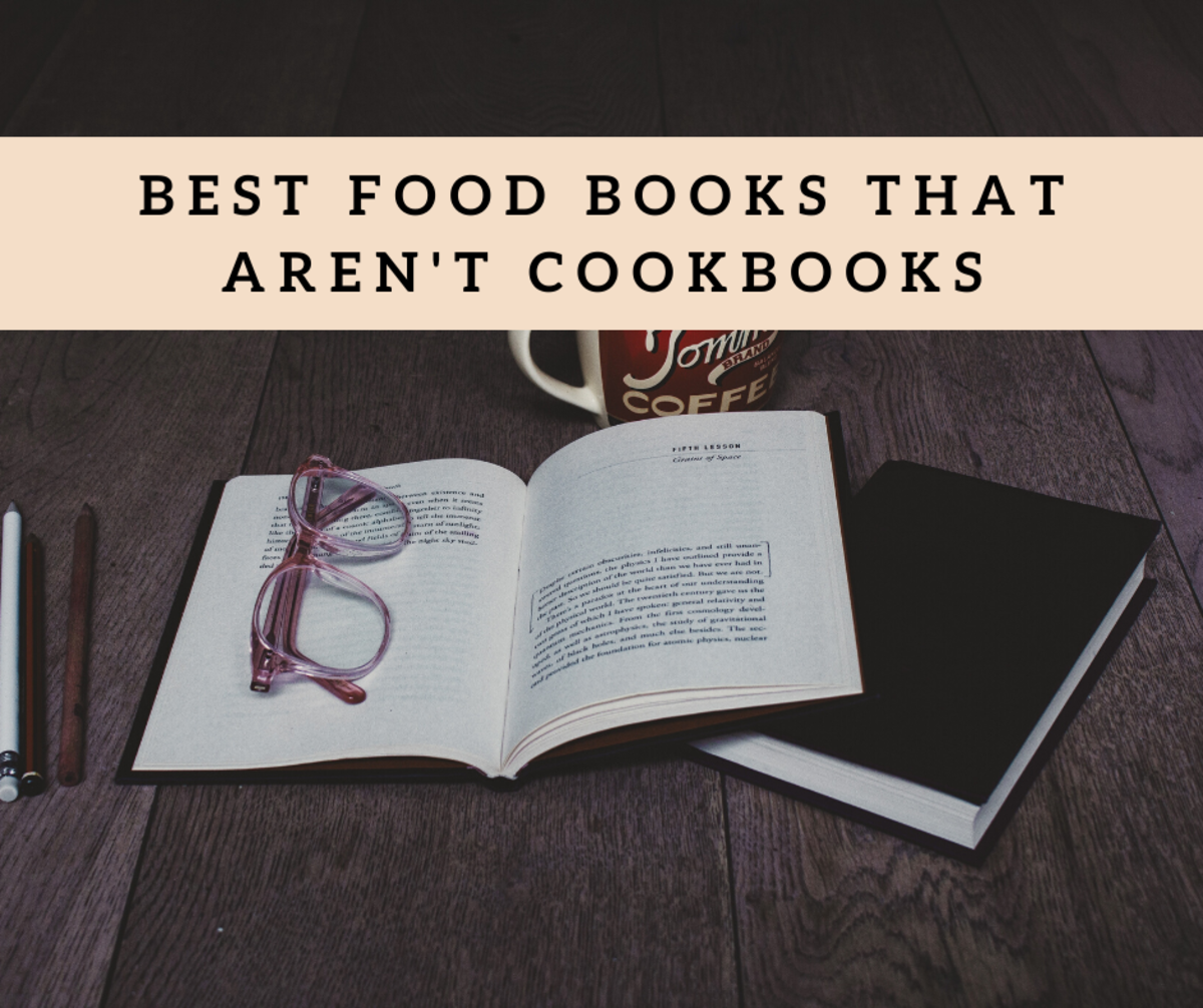 Love food, but don't always want to read a cook book? One of these books will be perfect for you.