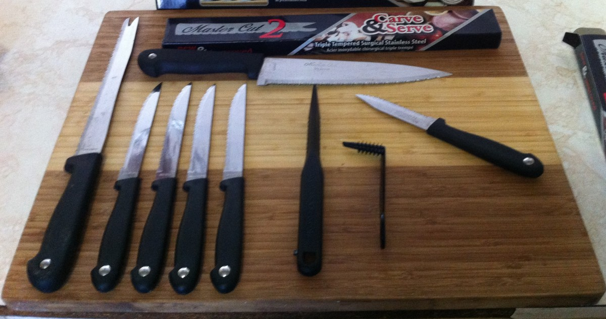 Jesco - Master Cut 2 Knife and Garnishing Tools Review