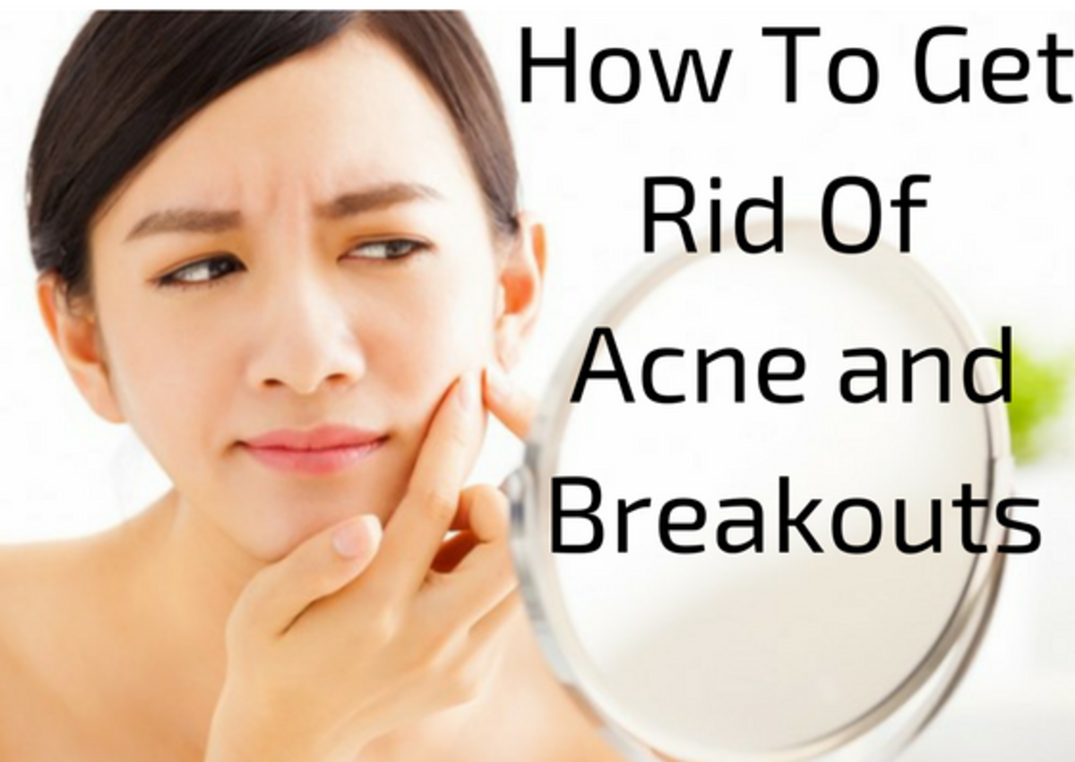 What helps to get rid of acne