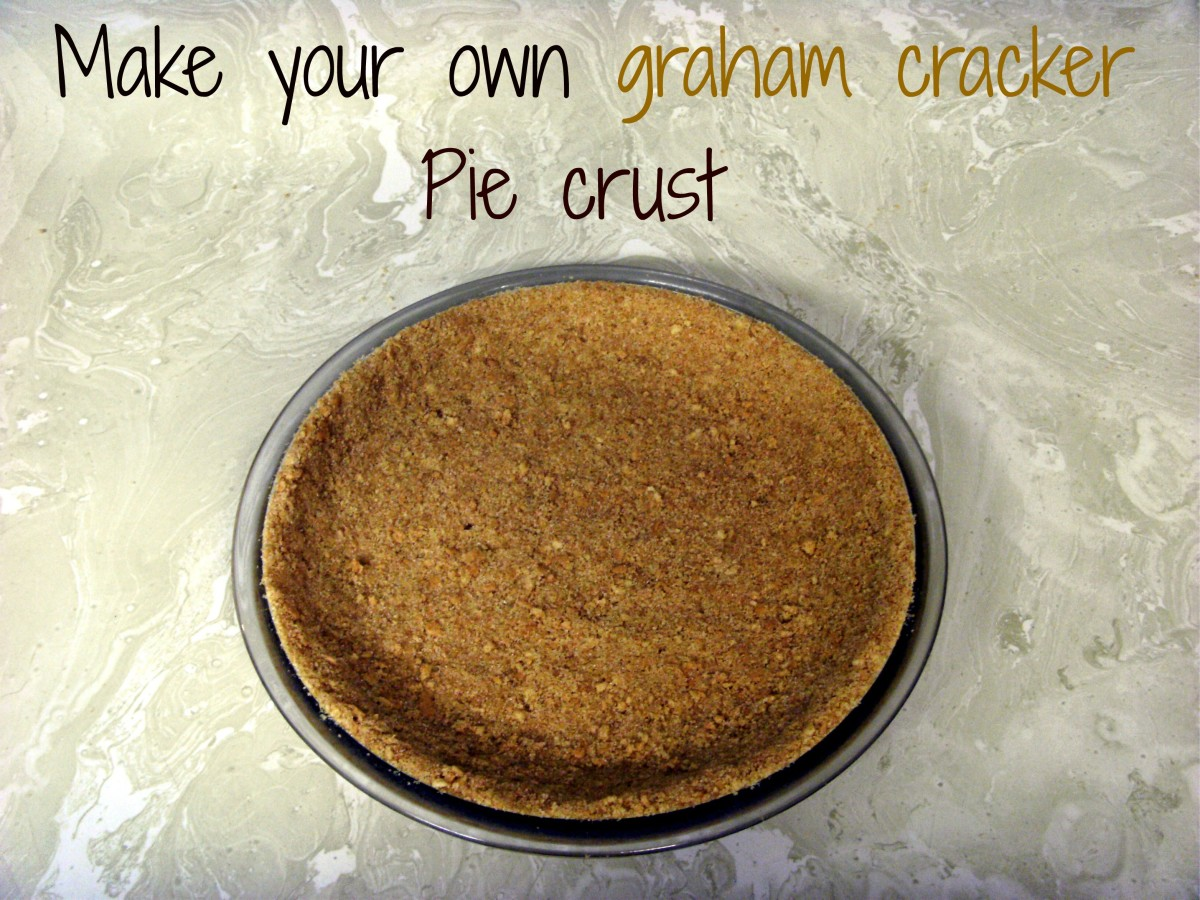Graham Cracker Pie Crust Recipe - Make Your Own Pie Crust