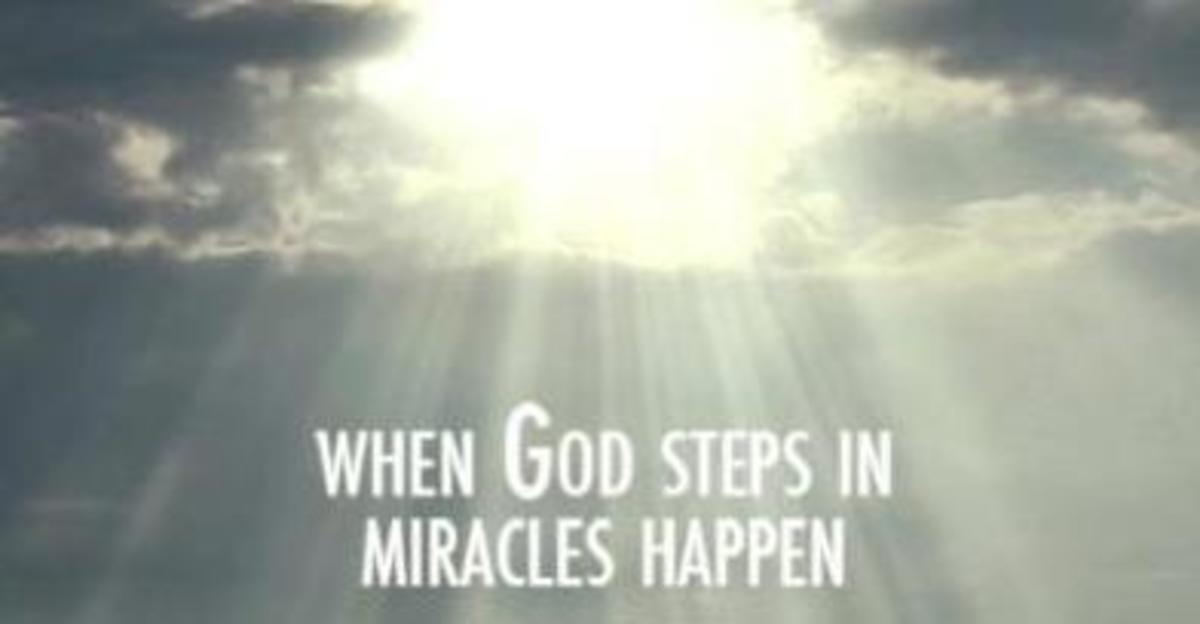 20 Things that can happen when God steps in