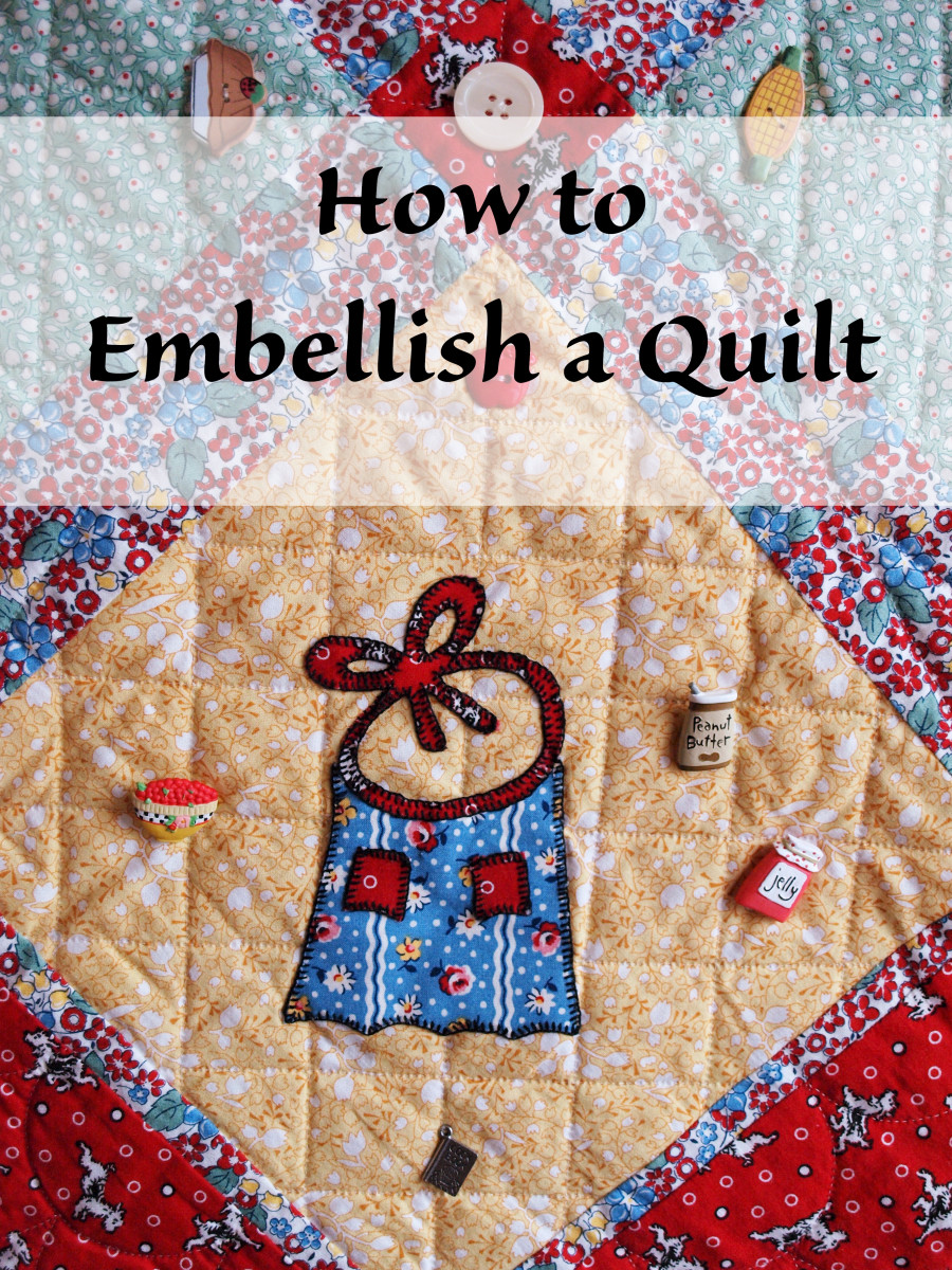 How to Embellish a Quilt
