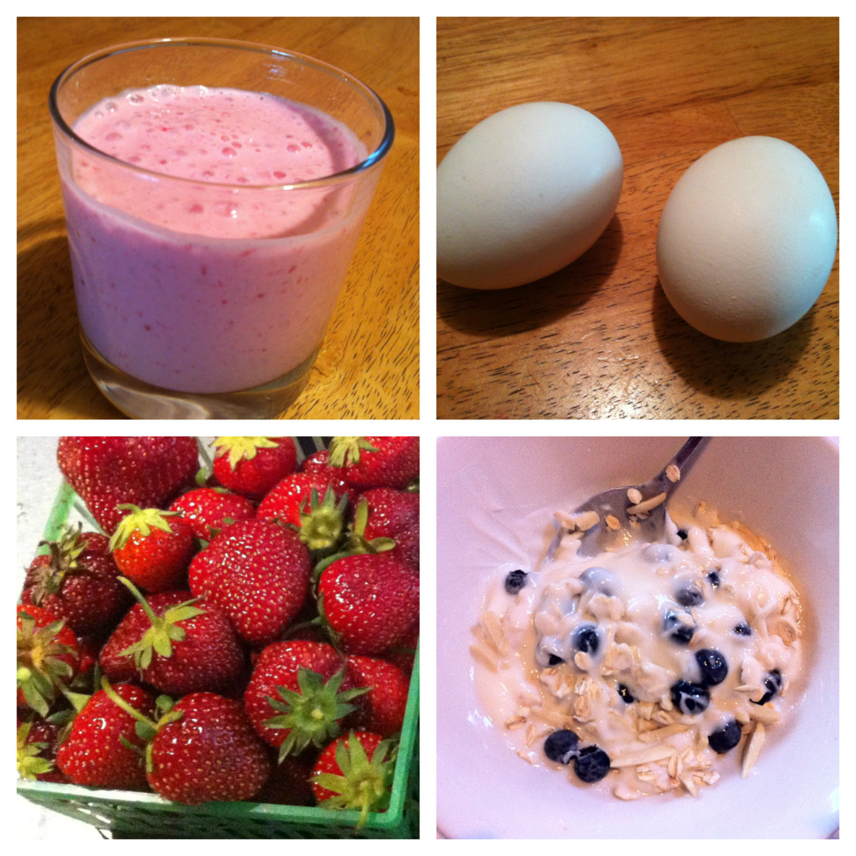 A healthy breakfast gets your day off to a great start!