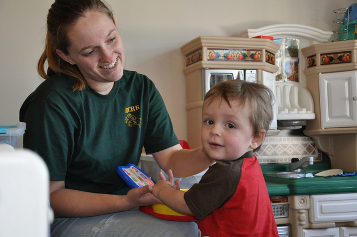 Child Life Specialists help children to continue their developmental needs while coping with being in the hospital.