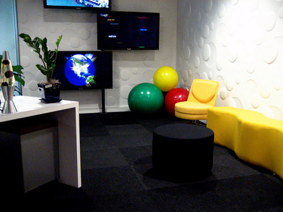 Google's Washington D.C. office looks fun and cool. Do you agree?.