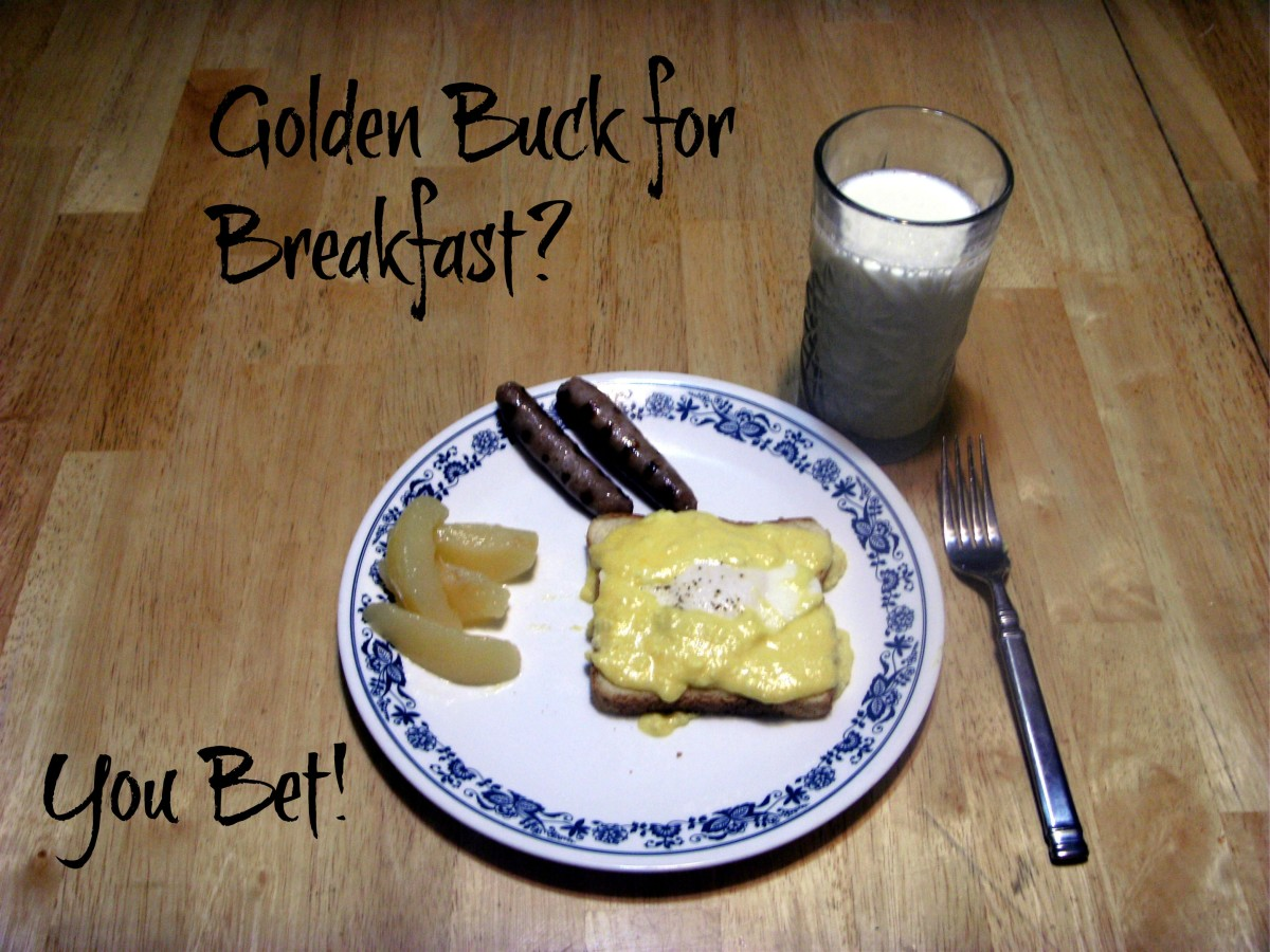 A dish of Golden Buck.  Just the ticket for a special breakfast