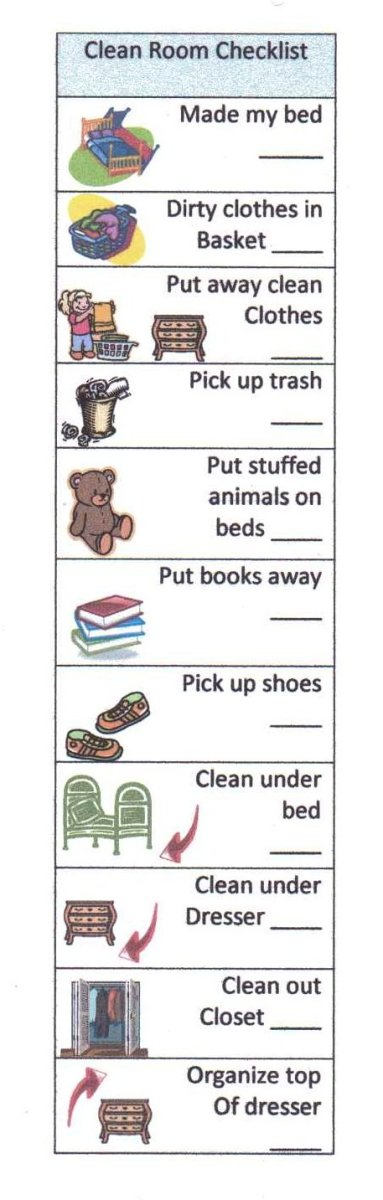Clean Room Checklist