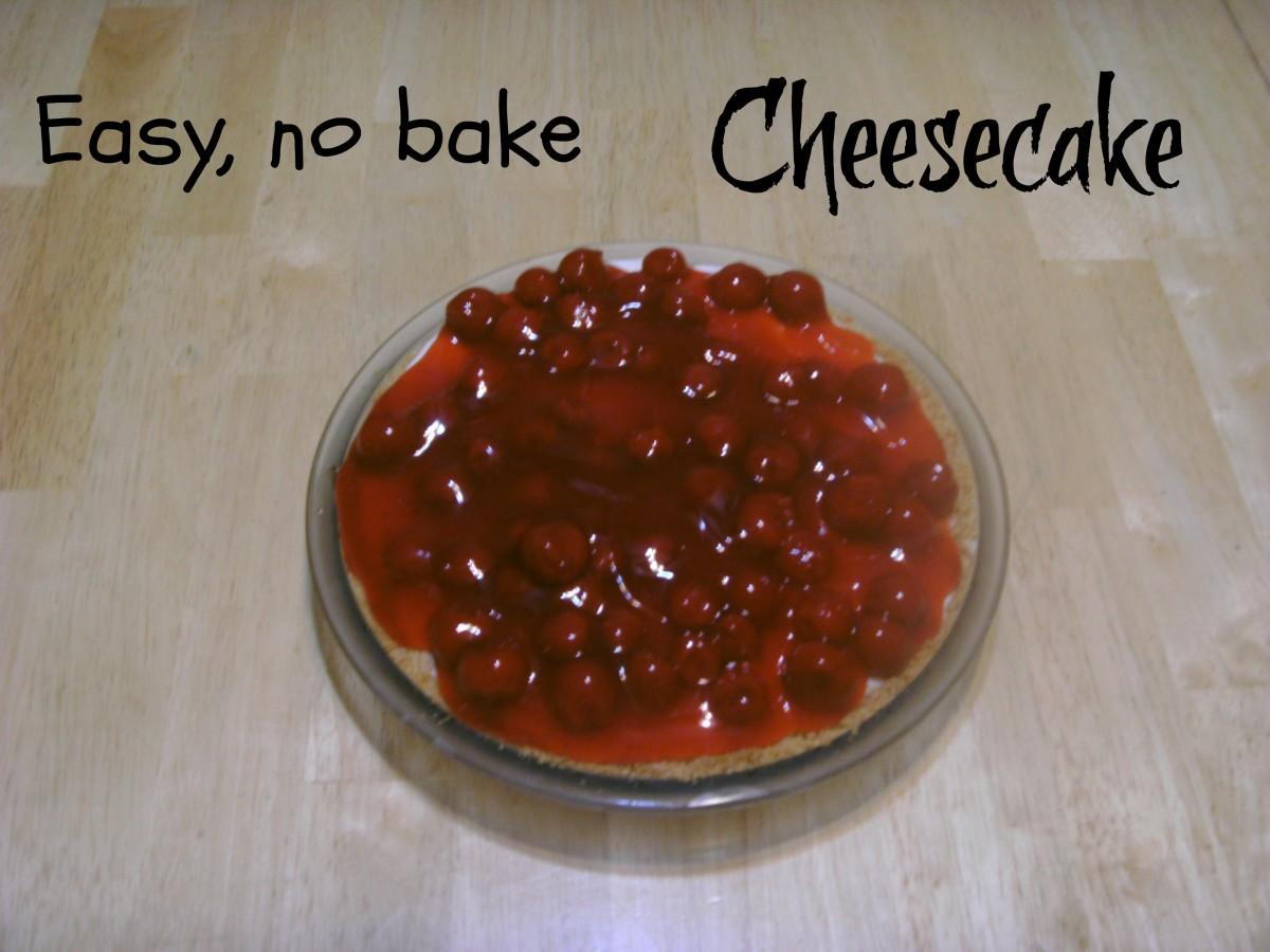 The very best, easiest no-bake cheesecake recipe.