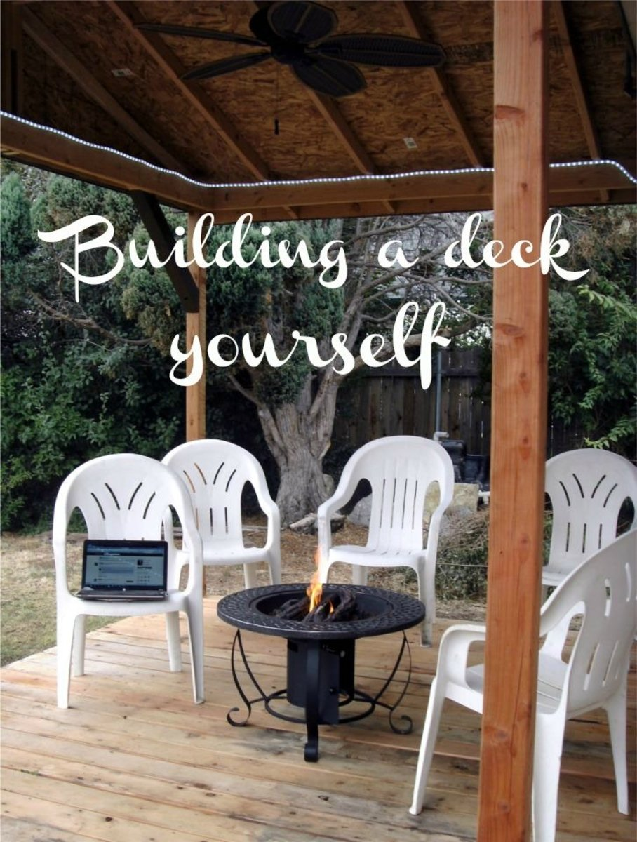 How to Build Your Own Covered Deck