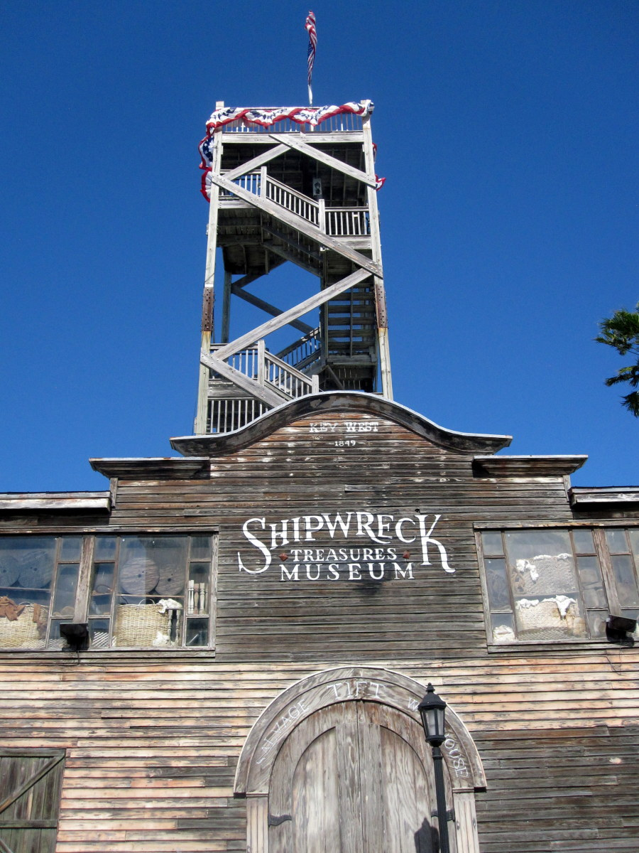 Visiting the Key West Shipwreck Museum