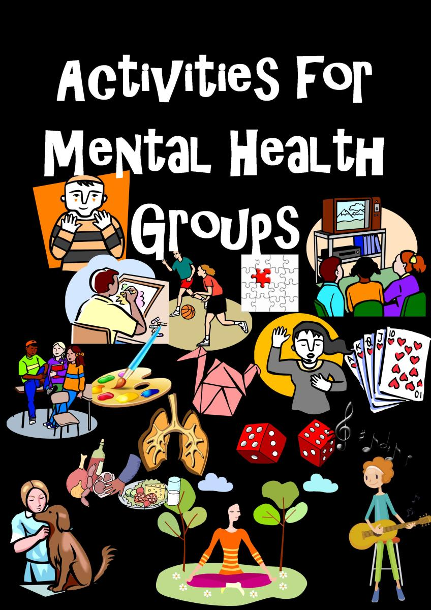 Adult therapy group activities