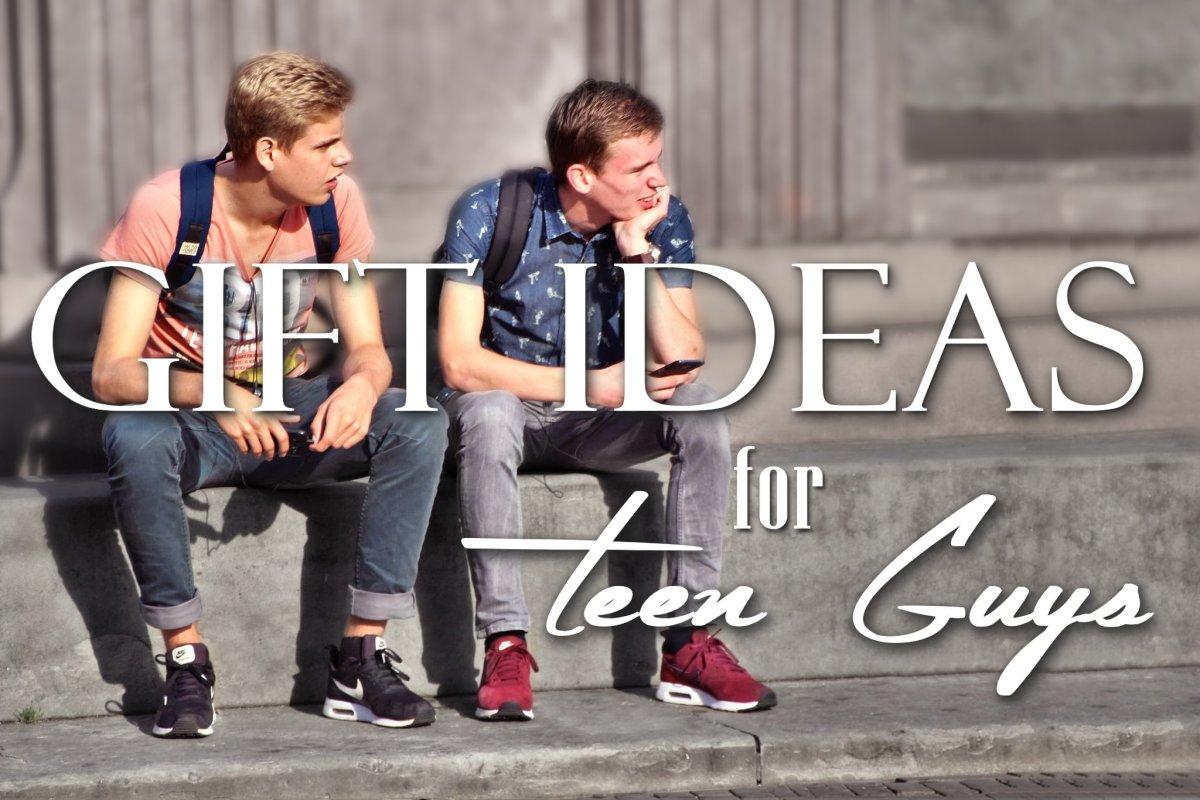 Gift ideas for teenage boyfriend, brother or friend.