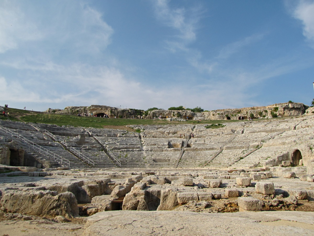 A Visit to the Archaeological Park of Siracusa, Sicily