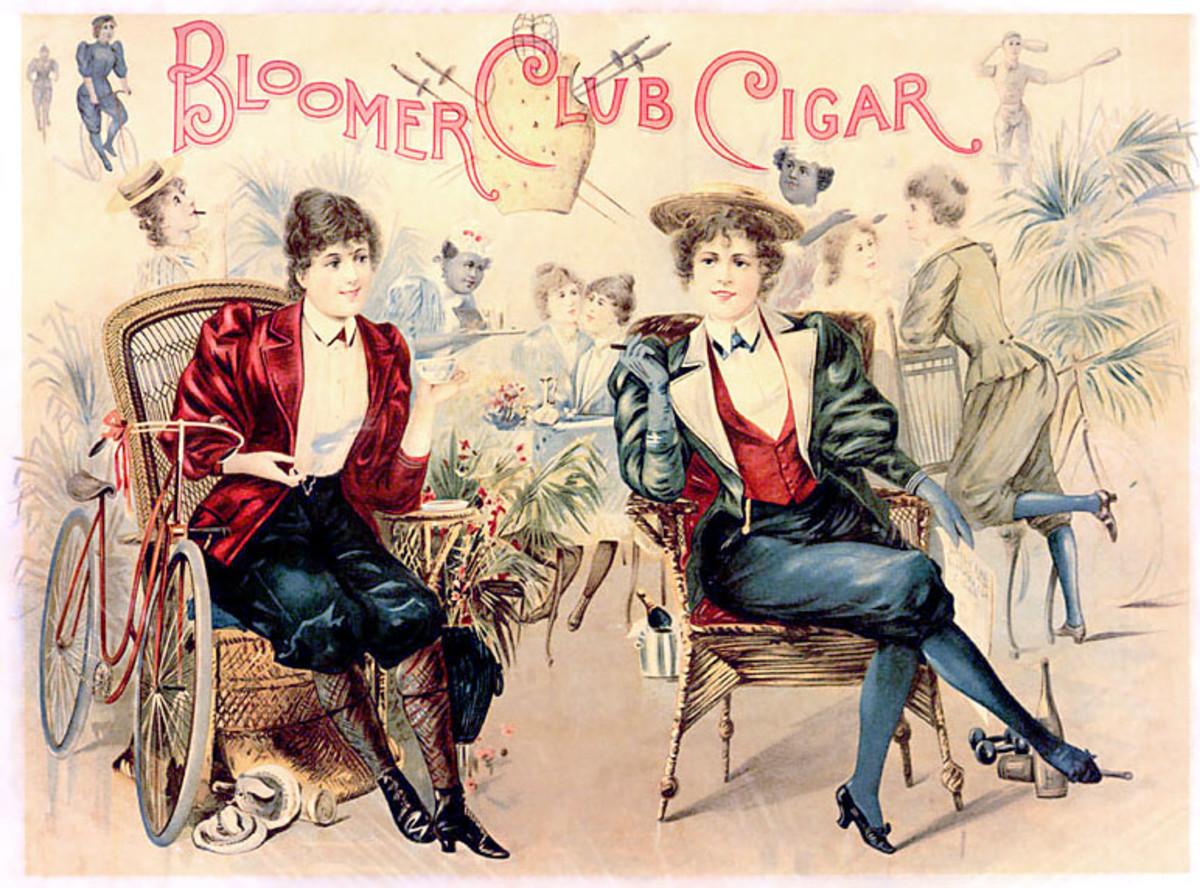 Cigar Box Lid Circa 1890s