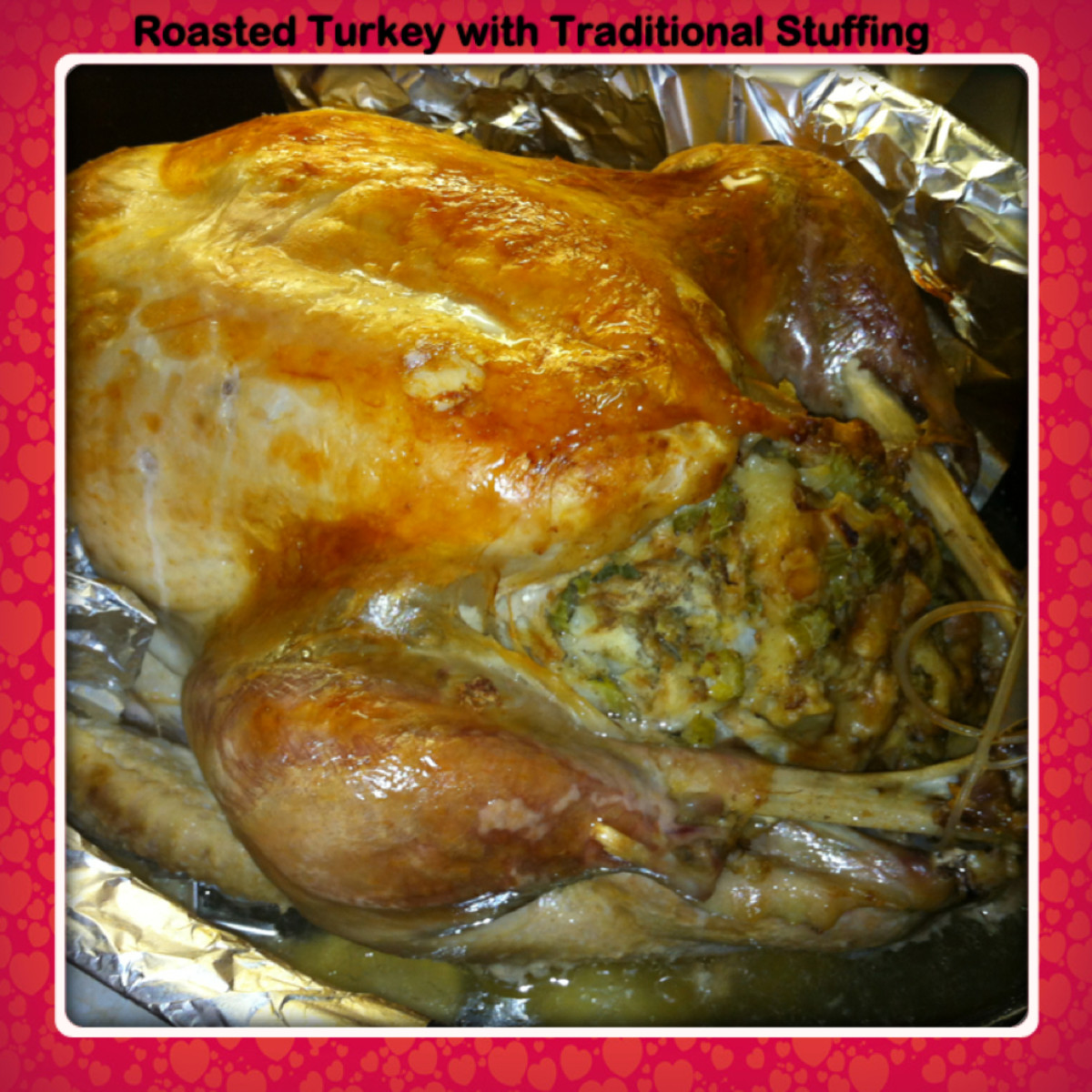 Roasted Stuffed Turkey With Cooking Time Chart