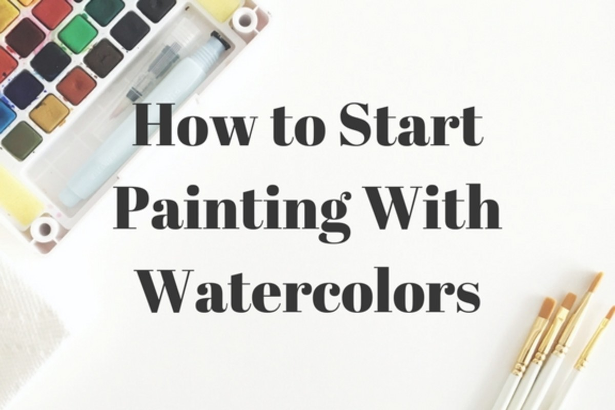 Beginners Watercolor Painting Guide Supplies Steps And