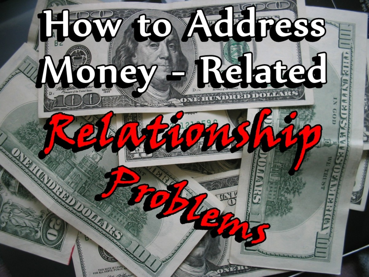 how to deal with money issues in a relationship