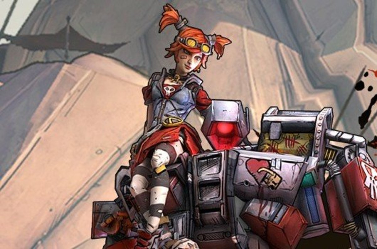 Borderlands 2: Mechromancer/Gaige Skill Builds