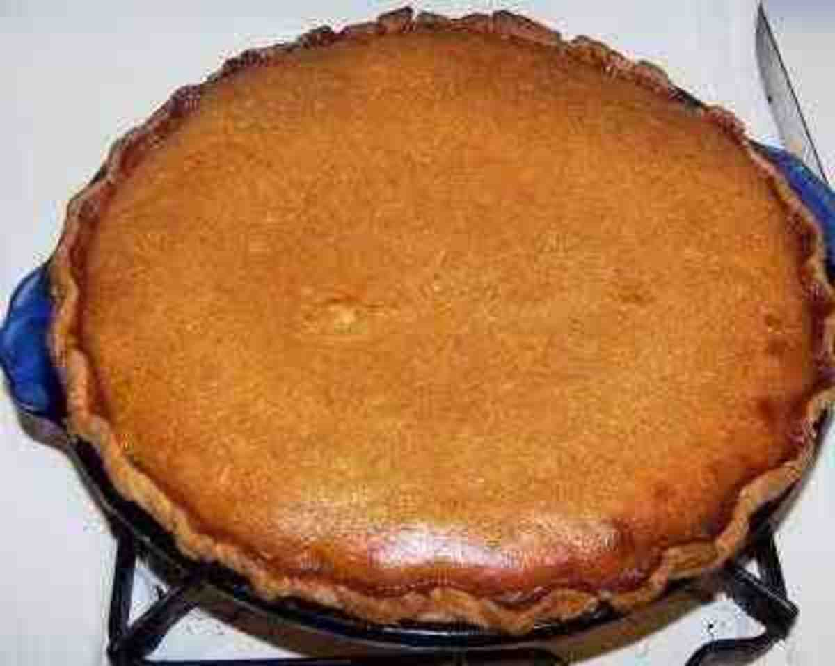 My Family's Favorite Pumpkin Pie