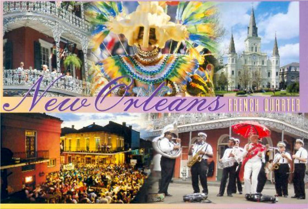 POSTCARD OF NEW ORLEANS