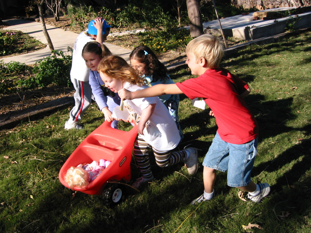 Relay Race Party Game.