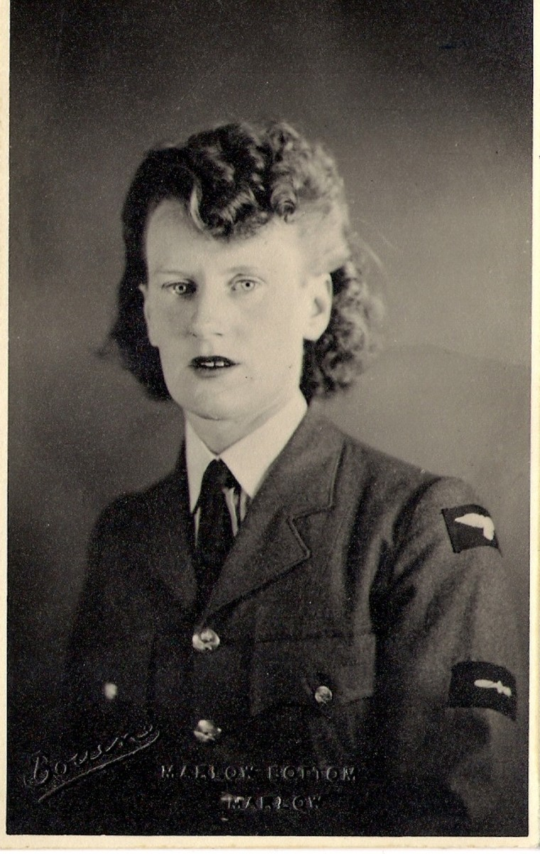 Sergeant Georgina Stone  Stationed North Weald Epping Forest 1939-45 property and copyright of Melanie L. Nell Rose