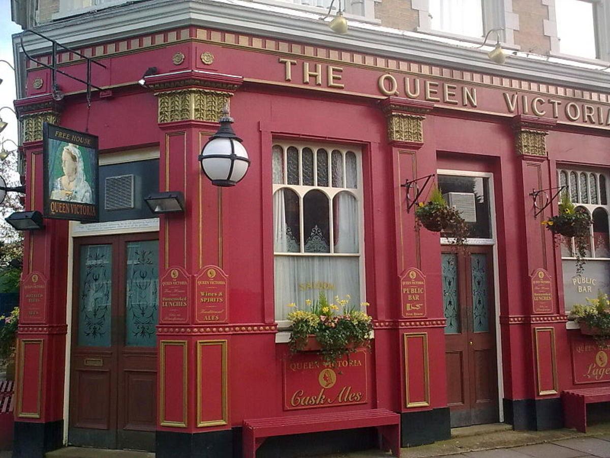 Queen Victoria, Eastenders