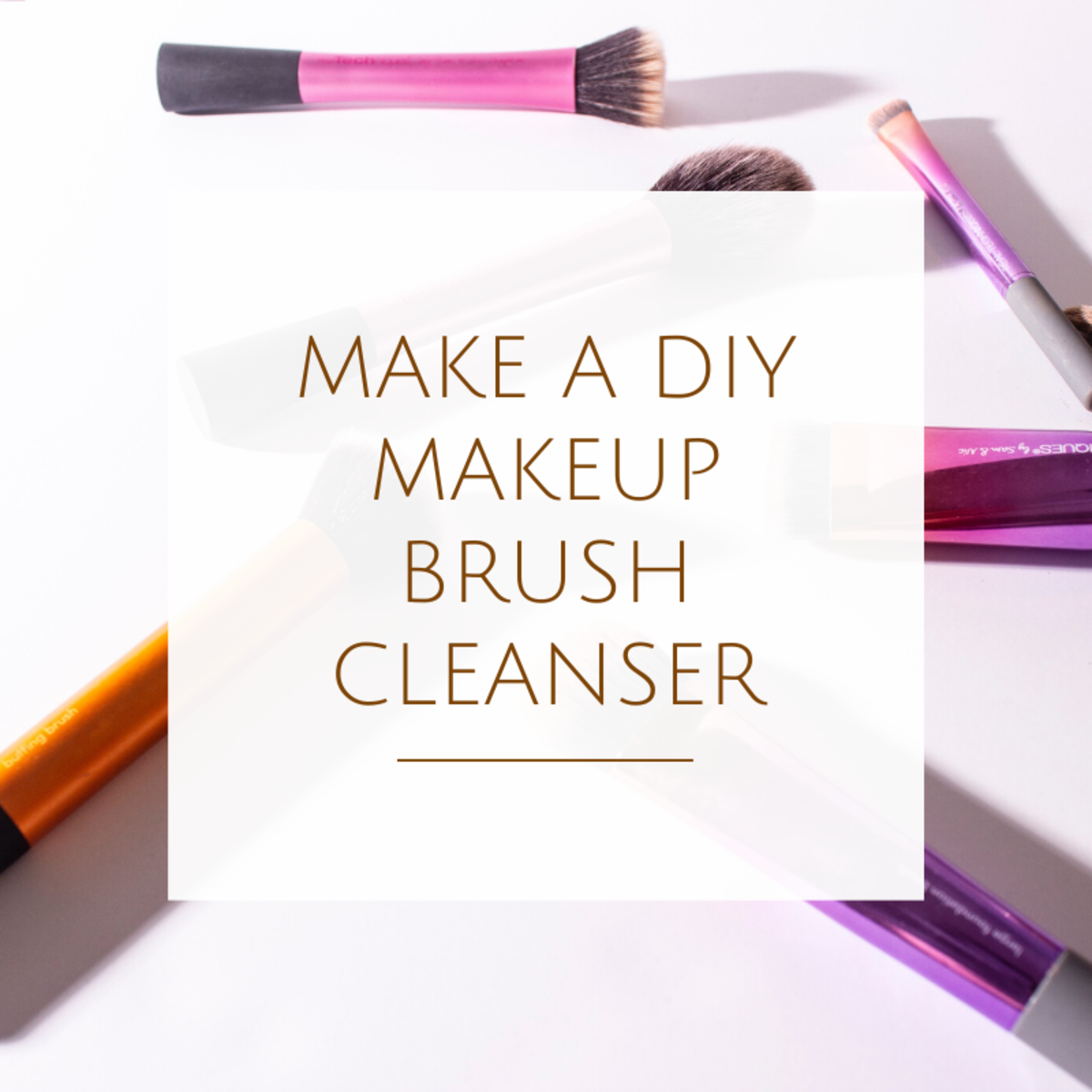 How to Make a DIY Makeup Brush Cleanser