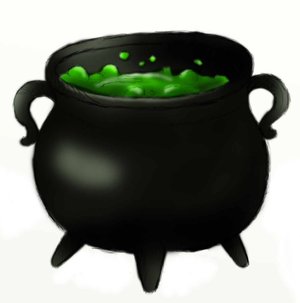 How to Draw a Cauldron