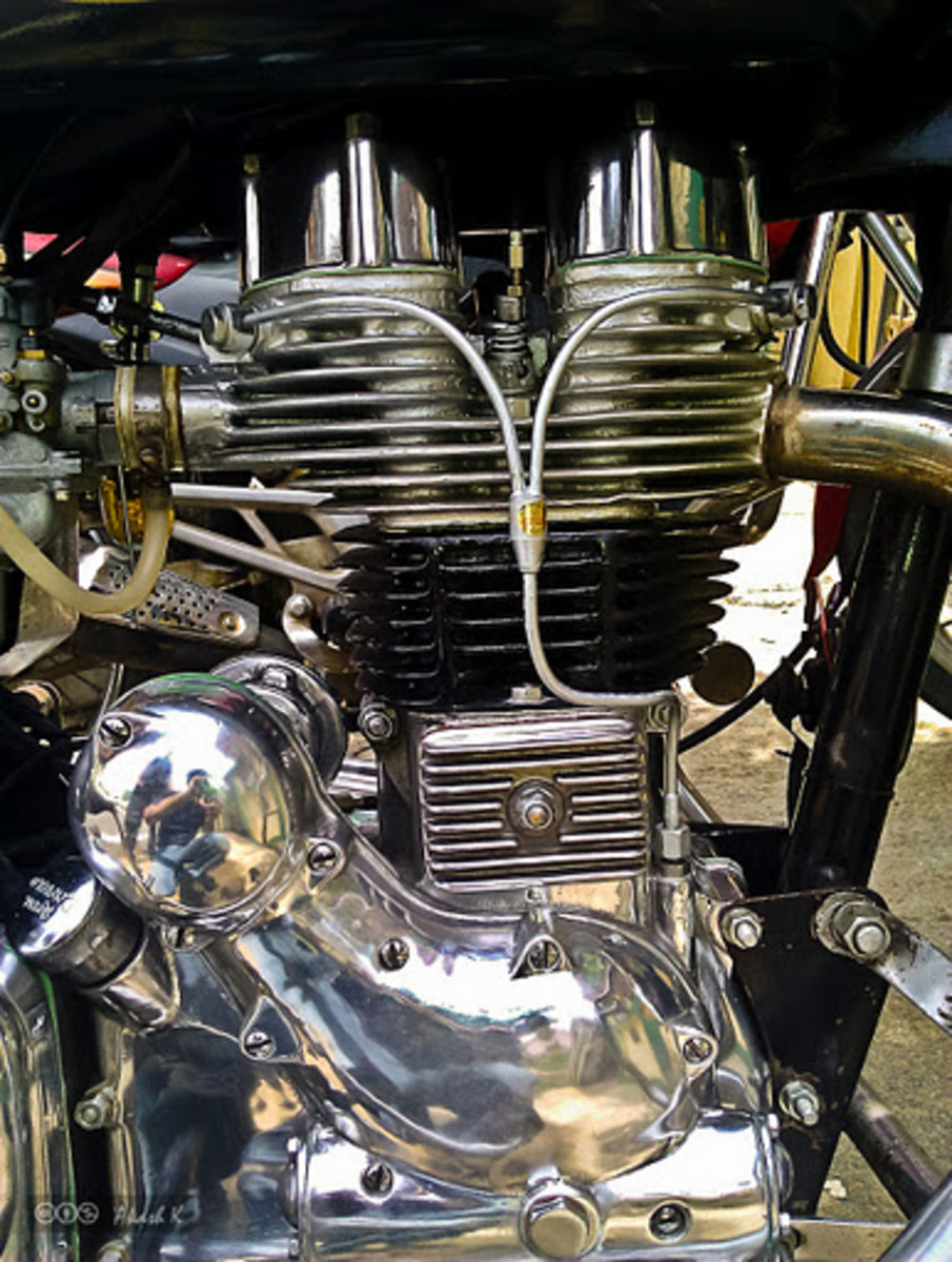 Royal Enfield 350 STD Engine and Gear System