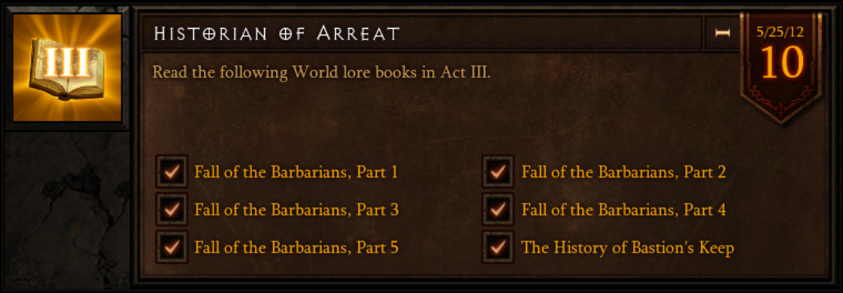 Historian of Arreat - Act III World Lore Book Location Guide - Diablo 3