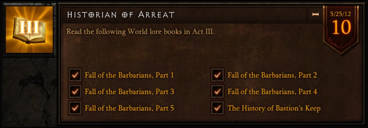 Historian of Arreat