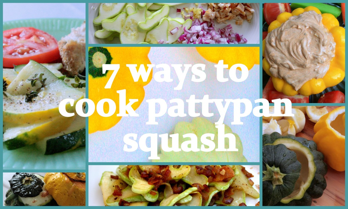 7 ways to cook pattypan squash