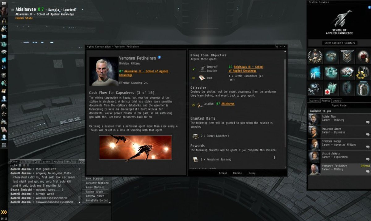 """""""EVE Online"""" Military Arc Guide: Cash Flow For Capsuleers (3 & 4)"""