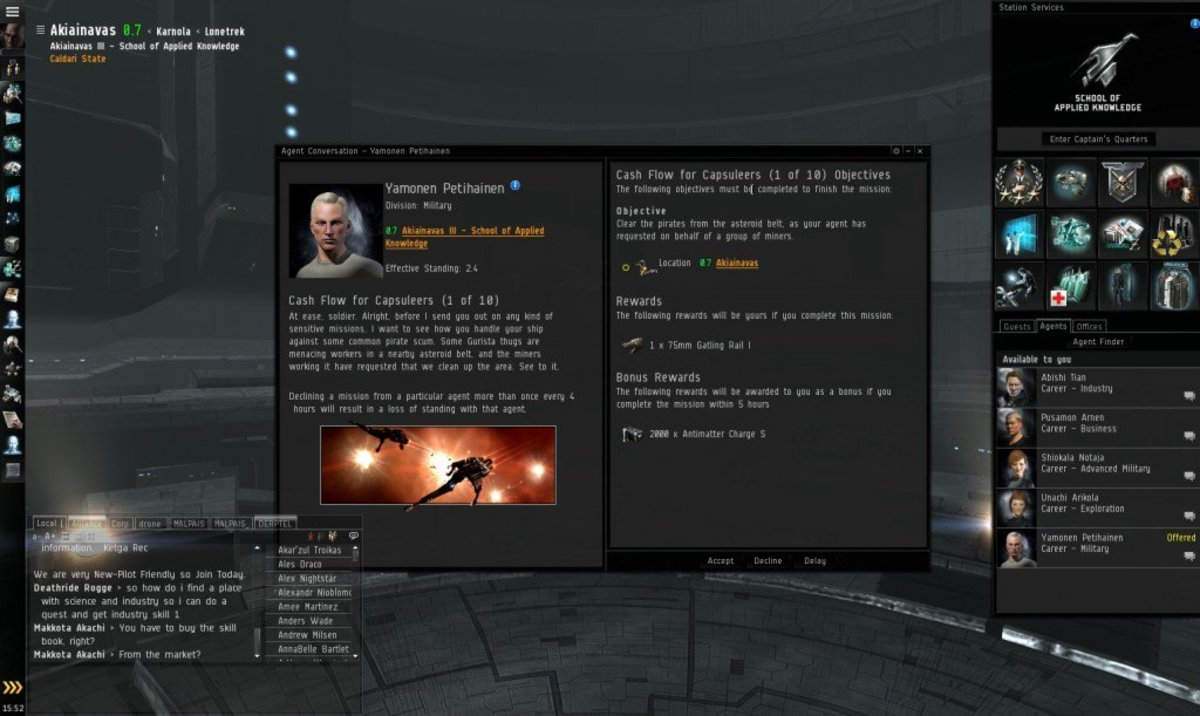 """""""EVE Online"""" Military Arc Guide: Cash Flow For Capsuleers (1 & 2)"""