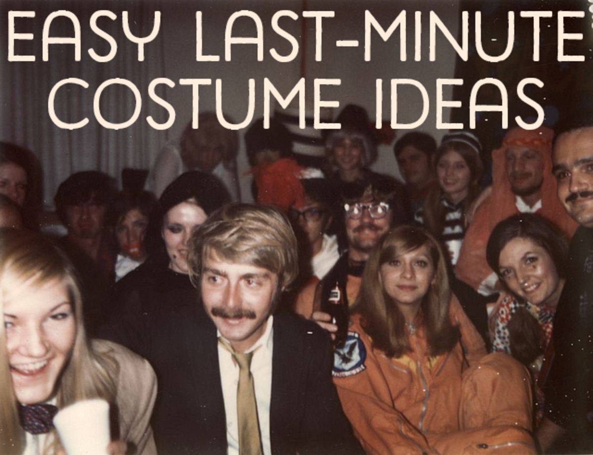 18 DIY Ideas for Easy Last-Minute Halloween Costumes