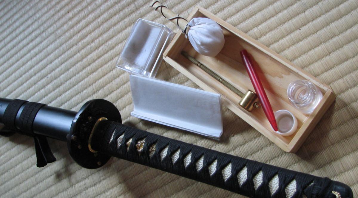 How to Clean a Japanese Katana and Saya